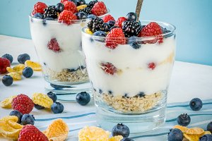 Healthy summer dessert