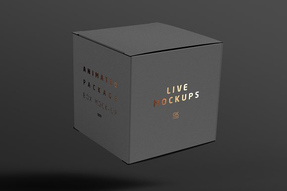Download Animated Box Mock-up - Free PSD Mockup Templates Premium