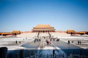 The Forbidden City view, Beijing