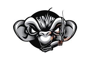 Monkey Smoker
