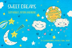 Sweet Dreams: Hand Drawn Collection
