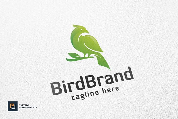 Bird Brand Logo Template