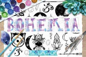 Bohemian Yogi Design Pack
