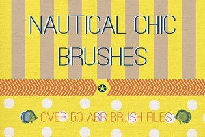 Nautical Chic Brushes