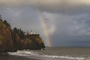 Lighthouse and Rainbow 2