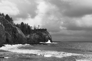 Lighthouse, Cape Disappointment