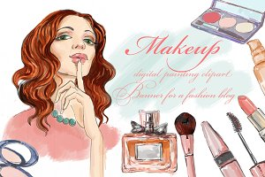 cosmetics and fashion girl