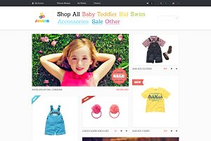 Junior - PSD Template for eCommerce