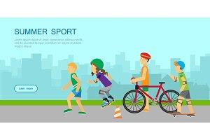 Summer Sport Banner