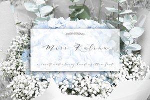 Miss. Kalina Script Font