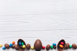 Chocolate Easter.