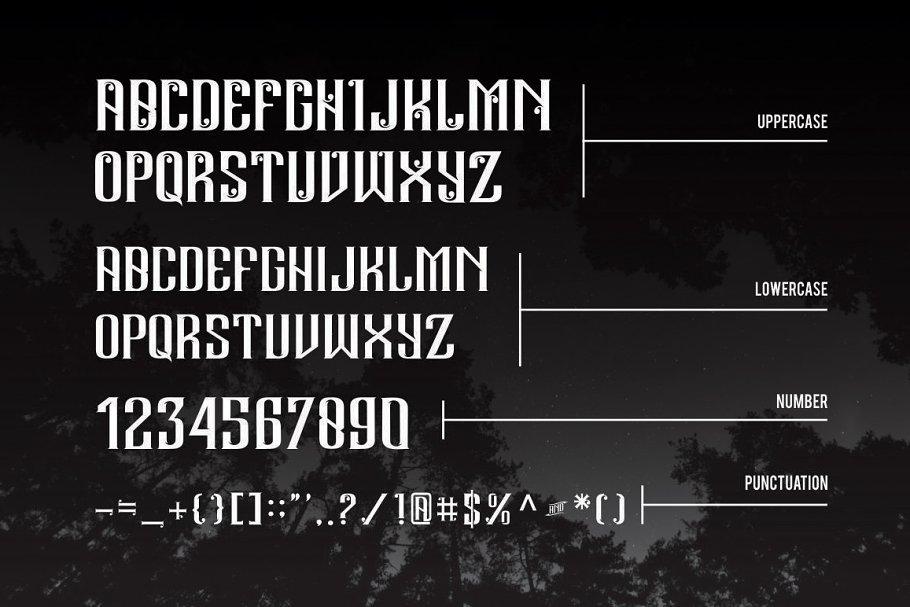 Best Andalas Typeface Vector