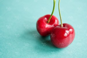 Cherries close up photography #7003