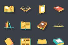 by  in Book Icons