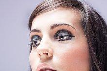 beautiful woman makeup