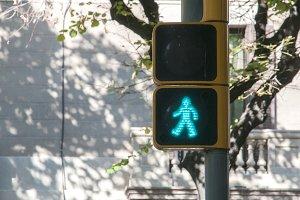 Pedestrian traffic