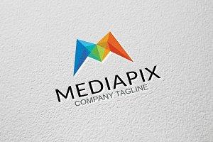 Media Pixel - M Letter