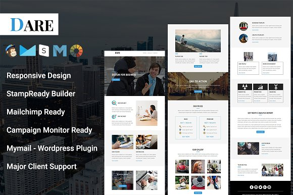 Dare Responsive Email Template