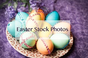 50% SALE / 8 Easter Stock Photos