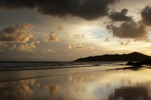 Beach of Byron Bay, Australia