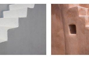Cycladic architecture. Santorini.