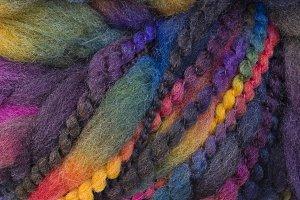 Yarn closeup