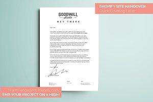 Shopify Partner Handover Letter