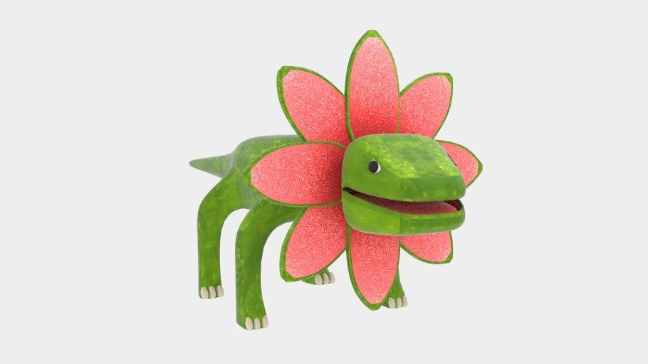Petal Monster Lizard