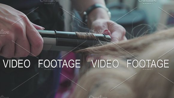 The Process Of Creating Styling Voluminous Curls Beauty Saloon