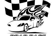 Road Race poster design