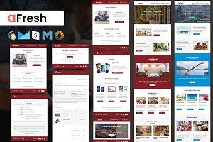 aFresh Multipurpose Email Templates