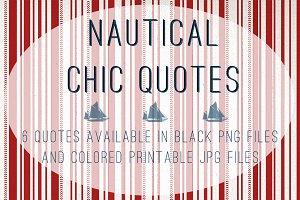 Nautical Chic Quotes