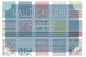 Nautical Chic Papers