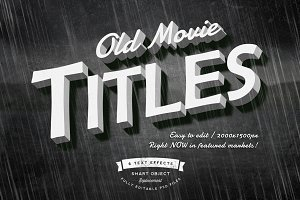Old Movie Titles