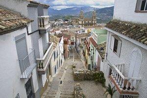 Spanish old street in Jaen