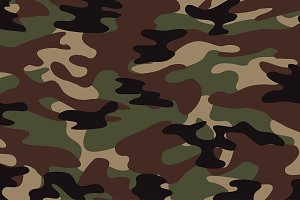 Green Camoflage Pattern(Vector)