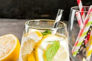 Detox cocktail for breakfast
