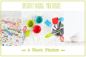 Birthday Baking | Mini-Bundle
