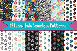 Funny Owls Patterns