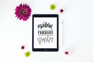 6 Modern Procreate Brushes