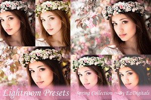50 Spring / Summer Lightroom Presets