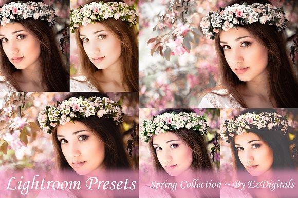 50 Spring / Summer Lightroom Presets