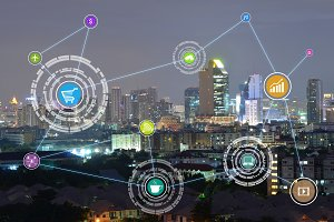 internet of things (IOTs)  city