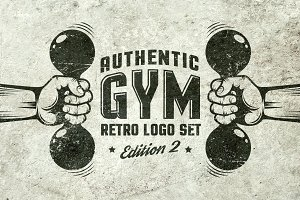 Gym Retro Logo 2