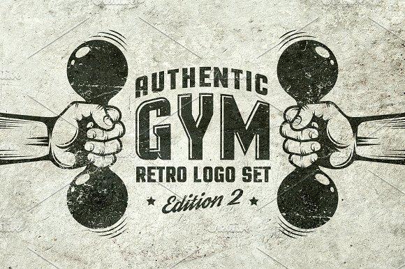 Gym Retro Logo 2