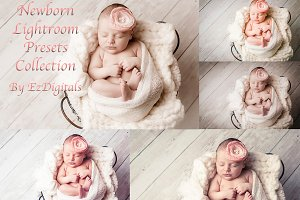 50 Newborn Lightroom Presets Set 1