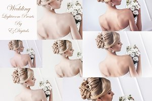 40 Wedding Lightroom Presets Set 1