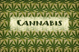 Cannabis Hemp Leaf Patterns