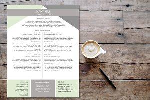 RESUME/CV MODERN DESIGN