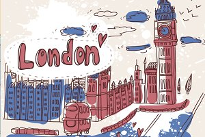 Cartoon London